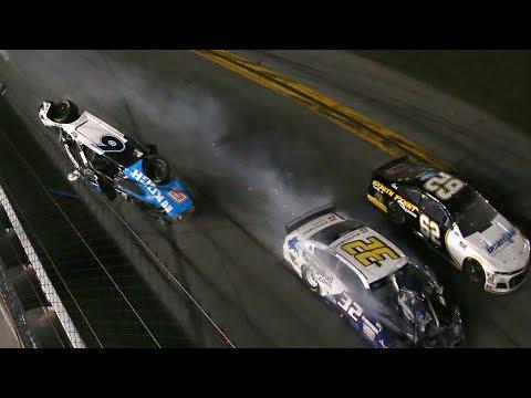 Daytona 500 Ends In Insane Crazy Crash