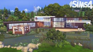 Дом миллионера ✨ Роскошный интерьер | Без СС | Строительство в Симс 4