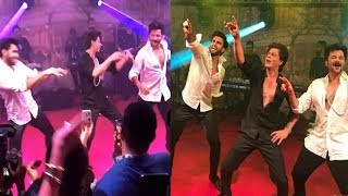 Salman Khan and Shahrukh Khan Amazing Dance in Sonam kapoor Reception ||Sonam ki Shaadi