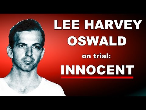 LEE HARVEY OSWALD on TRIAL : innocent attorney William Blackwell Night Fright Show