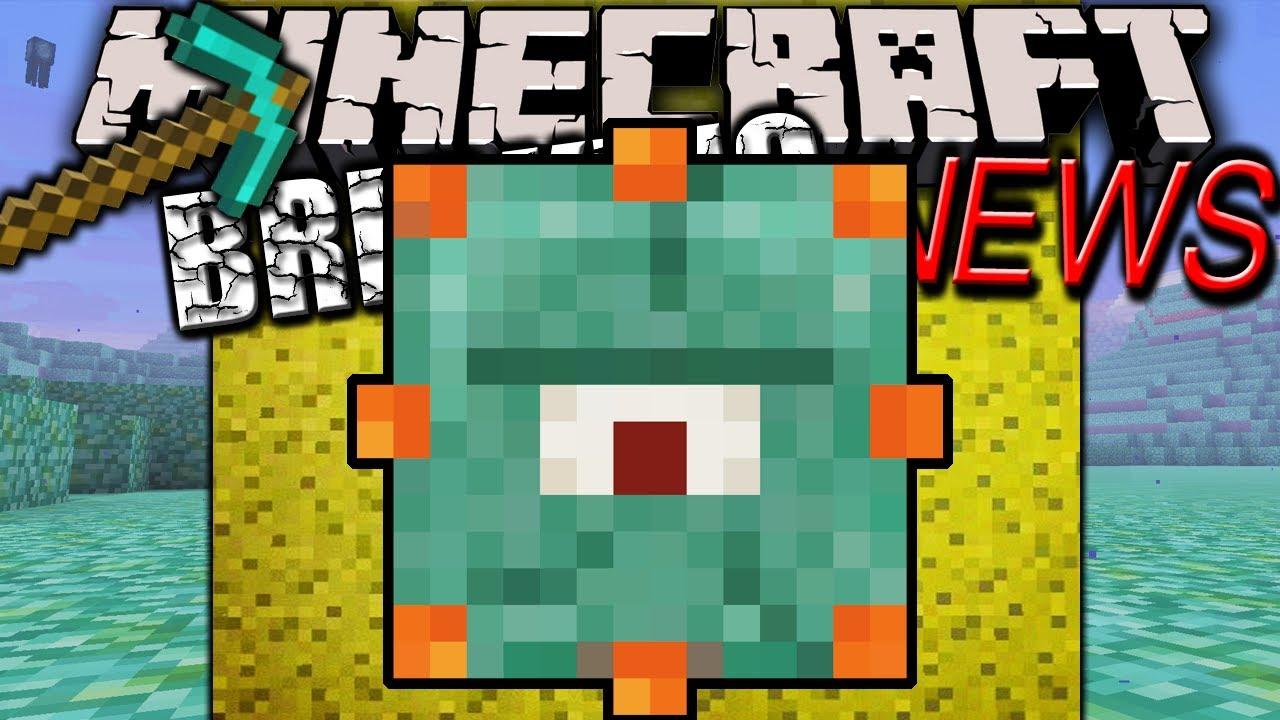 Minecraft 1 8 News Water Monster Pic New Sea Lantern