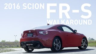 2016 Scion FR-S Walkaround [Exterior & Interior] (Scion)