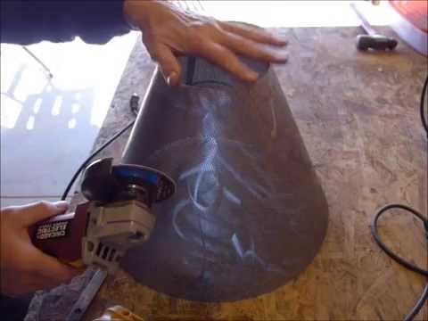 How to Make a Steel Lampshade