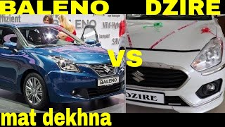 DZIRE VS BALENO MARUTI SUZUKI DZIRE VS BALENO 2018 DRAG RACE PETROL HINDI i20 SWIFT BREZZA TOP SPEED Video