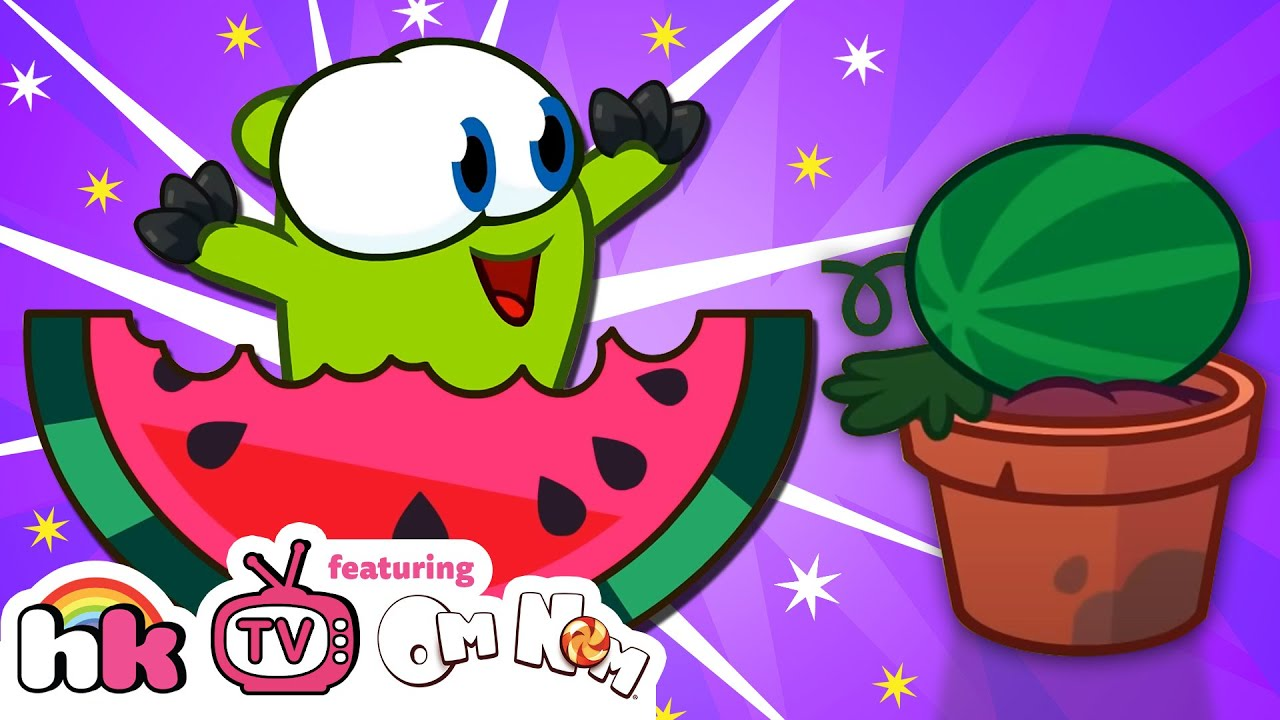 Best of Om Nom Stories Nibble Nom: Watermelon Farm | Cut the Rope | Cartoon for Kids | HooplaKidz TV