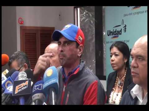 ¡IGUALITO VAS PA´ESA! Capriles ratifica TOMA DE CARACAS