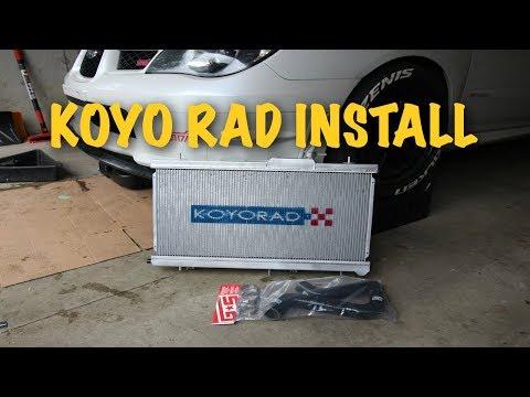 How To Install An Aftermarket KOYO Radiator