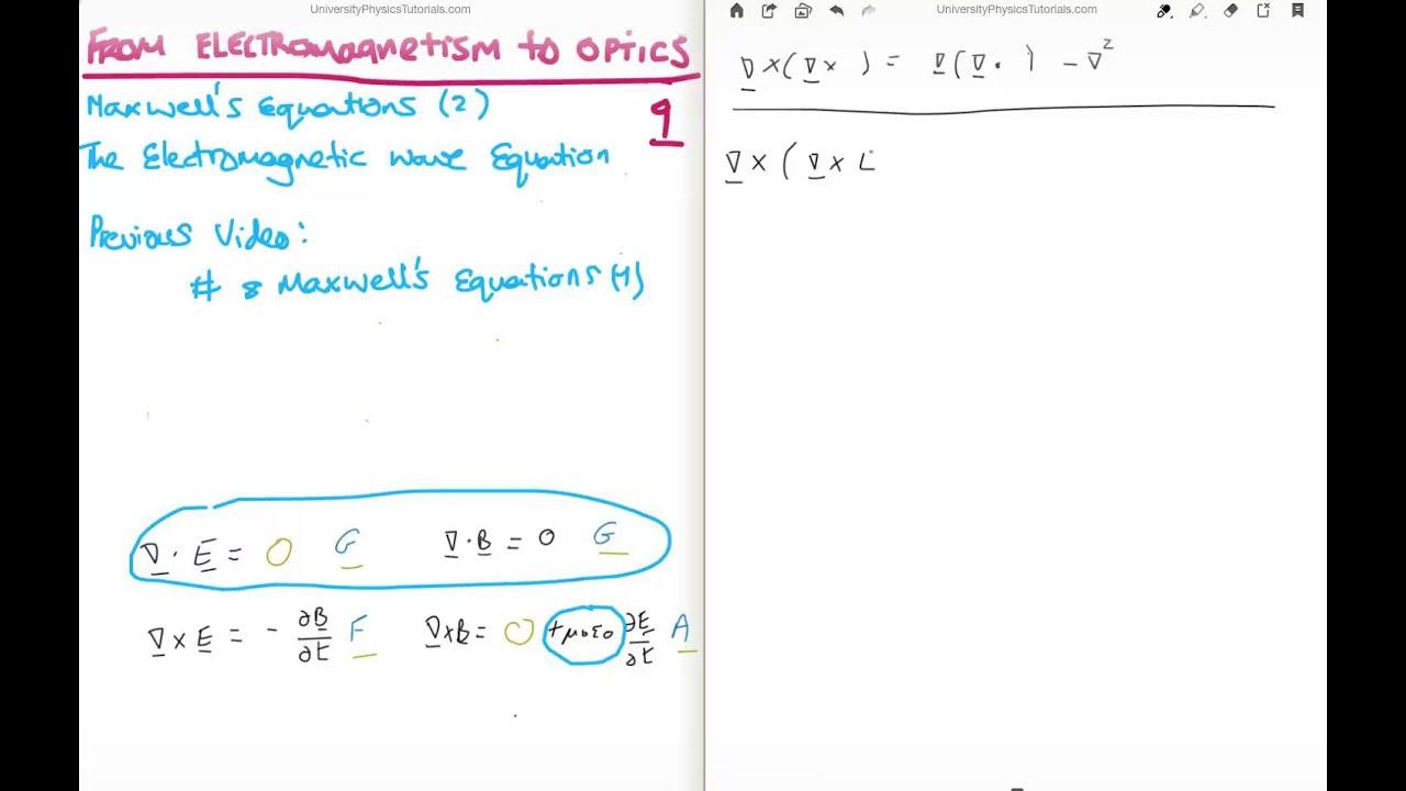 Em Wave Equation