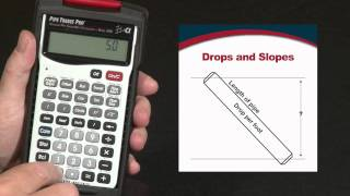 How to Calculate Pipe Drop, Slope and Percent Grade | Pipe Trades Pro