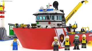 LEGO City 2016 Fire Boat review! set 60109