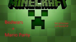 Bedwars+Mario Party mit Liam und Janik | M. Bowi