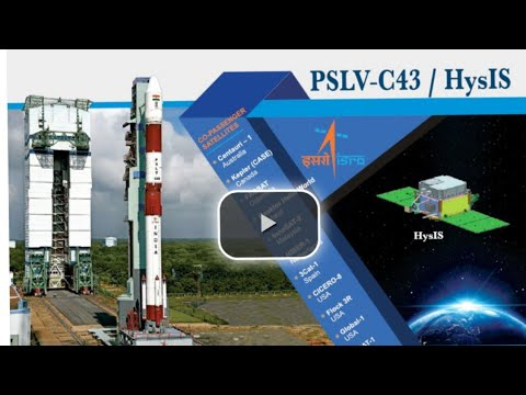 ISRO PSLV-C43 / HysIS Mission Curtain raiser video (Hindi)
