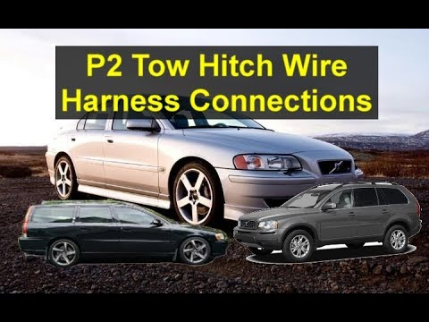 tow hitch trailer wire harness for p2 volvo\u0027s s60, s80, v70, xc90, etc votd Volvo S60 Wiring-Diagram