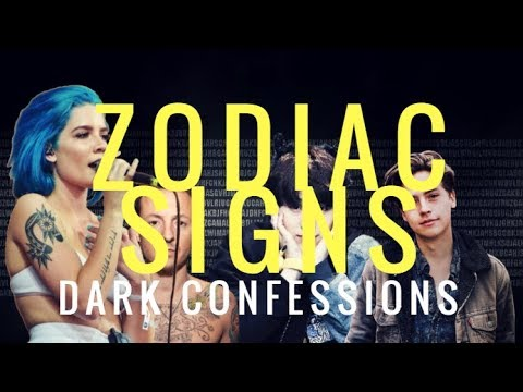 Zodiac Signs DARK songs and DEEP confessions
