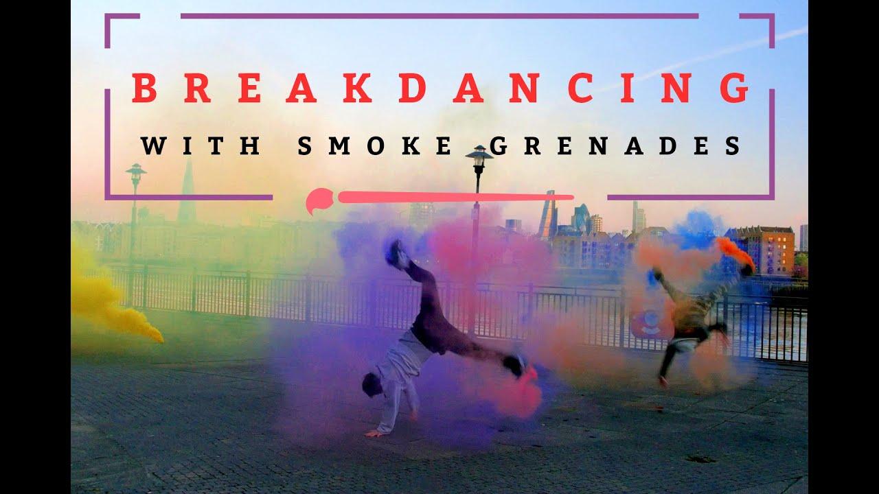 Breakdancing with Smoke Grenades