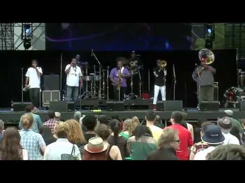 The Soul Rebels at the Luminato Festival Hub in Toronto