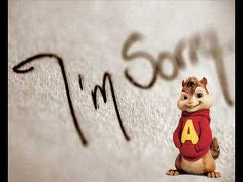 Alvin of the Chipmunks - Apologize (Lyrics Included)