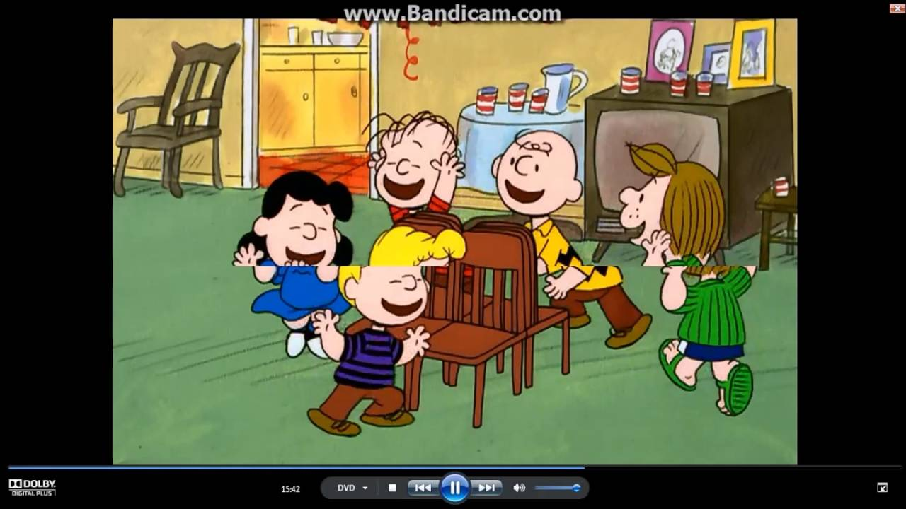 Happy New Year Charlie Brown Musical Chairs YouTube