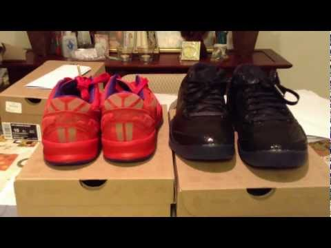 nike-zoom-kobe-8-ext-red-suede-&-black-mamba-shoe-look-and-review