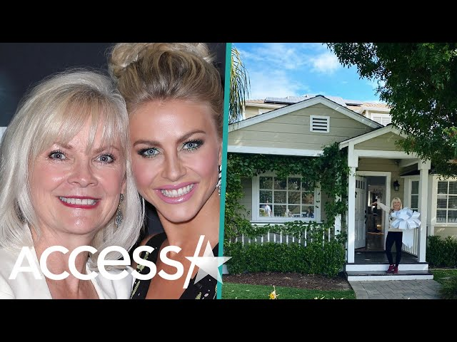 Julianne Hough Surprises Her Mom With New House