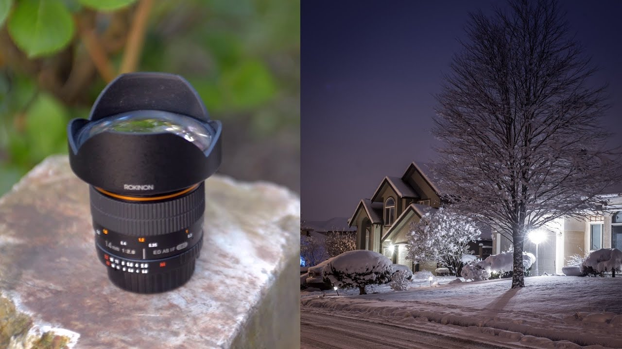 Rokinon 14mm F 2 8 Lens Review Photo Video Test Youtube