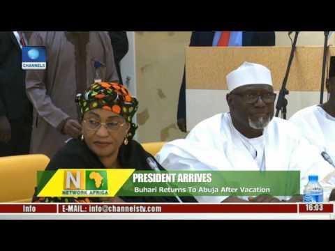 Network Africa: President Muhammadu Buhari Back To Nigeria
