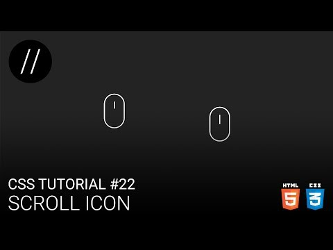 CSS Tutorial #22 — Scroll Icon [UP/TO/DATE] thumbnail