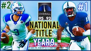 National Championship vs #1 Penn St - NCAA Football 14 Dynasty Year 9 | Ep.165