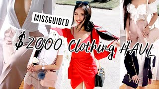 I SPENT $2000 at MISSGUIDED...HUGE TRY-ON HAUL