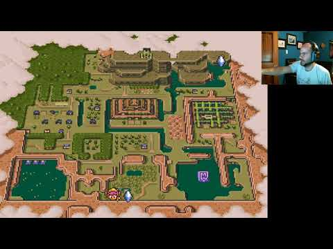 Zelda Link to the Past part 12, Dark World level 2