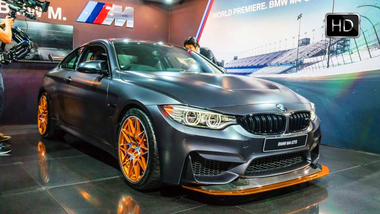 2016 Bmw M4 Gts Limited Edition Exterior And Interior