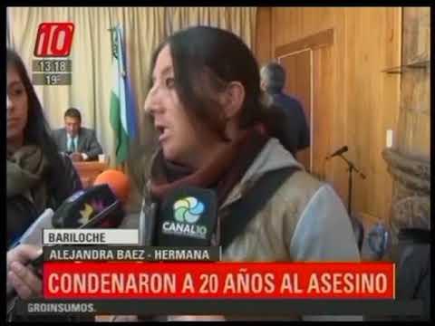 Bariloche: Condenaron a 20 años al asesino de Natalia Báez