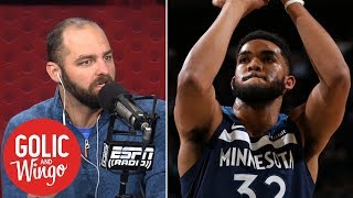 Can Jimmy Butler have a positive effect on Karl-Anthony Towns? | Golic & Wingo