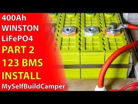 Winston LiFePO4 Part 2: 123BMS Install