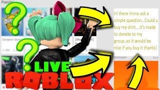 CLICKING ON WEIRD RANDOM ROBLOX ADS | Roblox Live | SallyGreenGamer