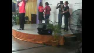 Youthful praise awesome wonder God time band