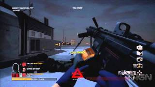 PayDay: The Heist - Roof Gameplay