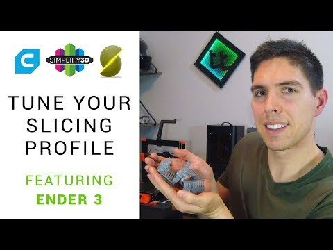 How to tune your slicing settings featuring Ender 3 - YouTube