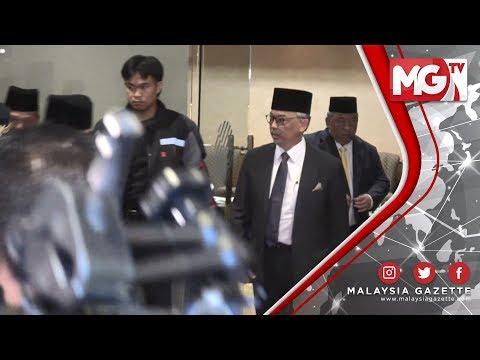 TERKINI : Tengku Abdullah Tiada Komen! Tunku Azizah Menangis