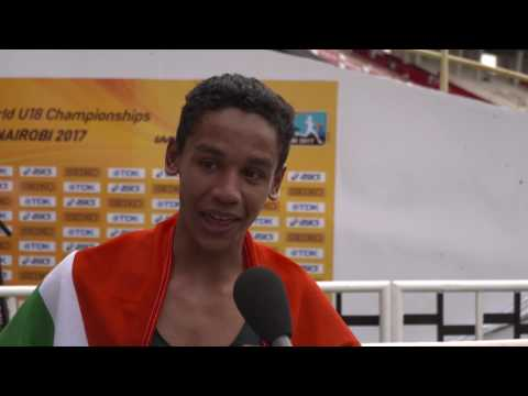 IAAF WU18 Nairobi - High Jump Men Gold Breyton POOLE