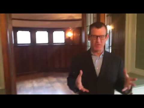 Touring a historic home in Detroit