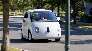 Google self driving car  World's first fully selfdriving ride on public roads