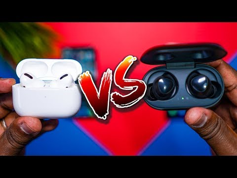 Apple AirPods Pro vs Samsung Galaxy Buds!