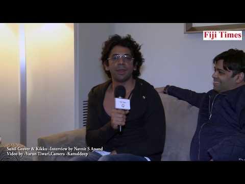 Exclusive Interview by Navniit S Anand. Dr. Mashoor Gulati, Sunil Grover and Kiku Sharda in Sydney.