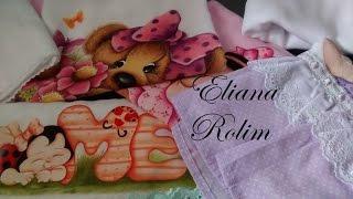 Qual fralda eu utilizo para pintar e como iniciar a preparação – Eliana Rolim