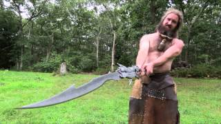 The man who makes giant swords(Today on CapeCast: Meet an extraordinary sword maker from West Tisbury on the island of Martha's Vineyard. This burly, Irish transplant is one of the world's ..., 2013-08-14T19:02:58.000Z)