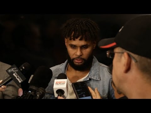 Patty Mills Postgame Interview / Spurs vs Warriors / Nov 2