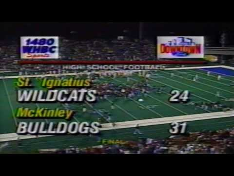 1998 McKinley Bulldogs vs St Ignatius - Fantastic Finish