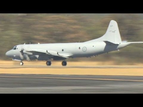 An inside look at a P-3 Orion surveillance aircraft