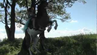 Юля Коган - как поднять коня!